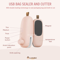 2in1 USB Bag Sealer And Cutter Portable Sealing Machine