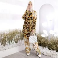 Setelan Baju Tidur Piyama Motif Batik Wanita Tie Dye Jumbo Bigsize New