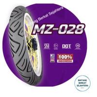 BAN MOTOR MIZZLE MZ 028 ( MZ028 ) 100/80-14 (TUBETYPE) BAN LUAR MATIC