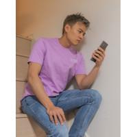 Korea Reomit Jaga Jarak Dulu T-Shirt - Lavender (Unisex)