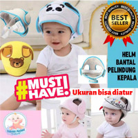 Helm bantal pelindung kepala bayi belajar jalan import