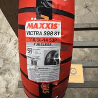 Ban Motor Maxxis Victra S98ST 110/80 Ring 14 Tubeless