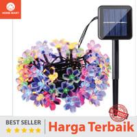 Lampu Hias Dekorasi Taman Natal Solar Panel Tenaga Surya Matahari