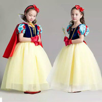 Baju pesta anak 4-8th dress perempuan cewek cantik kostum snow white