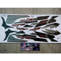 Unik Lis Striping Sticker Mio Sporty Limited Edition Hitam Diskon