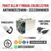 10 Unit Bitmain Antminer Z9 Mini - ASIC Miner Mesin Bitcoin