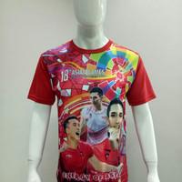 Baju Kaos Badminton Dewasa Asian Games JOJO