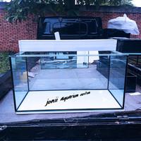 aquarium 100x50x50 10mm set filter talang pvc 100cm