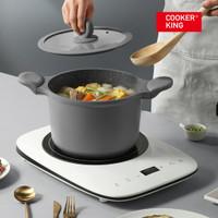 Cooker King Panci Casserole 22cm Maifan Non Stick (Soup Pot) + Tutup