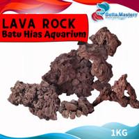 BATU LAVA ROCK / HARDSCAPE AQUASCAPE HIASAN AKUARIUM / AQUARIUM STONE