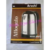 Teko Listrik Pemanas Air Arashi Affogato Electric Kettle S1001 1 L 1L