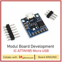 Modul Board Development IC ATTINY85 Micro USB