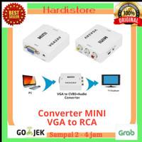 VGA to RCA Converter / Converter VGA to AV / VGA to AV Mini PROMO