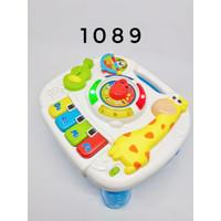 2IN1 BABY LEARNING TABLE 1089/1096 - PLAY LEARN FUN TABLE MAINAN BAYI