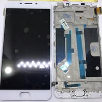 LCD TOUCHSCREEN OPPO F1+ / F1 PLUS X9009 ORIGINAL - Putih