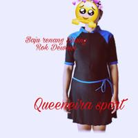 Baju renang Diving rok dewasa - hitam benhur, M