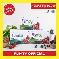 FLIMTY Paket Hemat SILVER (2 box) - Fiber Pelangsing Badan All in One