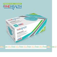 ONE HEALTH MASKER SURGICAL 3ply MASKER MEDIS ALKES MEDAN