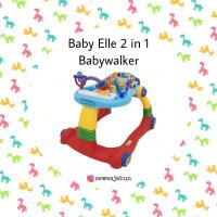 BabyElle 2 in 1 Baby Walker