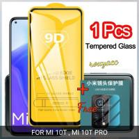 tempered glass 9D mi 10T mi 10T pro anti gores kaca + glass kamera