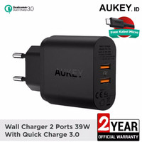 Aukey PA-T16 With Dual Quallcomm Quick charger 3.0 promo