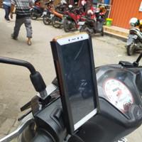 holder hp motor plat besi