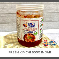 600g Fresh Kimchi Korea Jar (bs pilih varian) Halal
