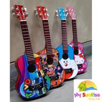 Gitar ANAK / Gitar Ukulele / Kentrung Senar 4 Lokal