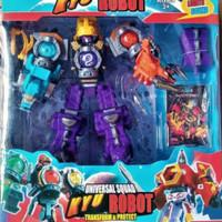 mainan robot uchusentai kyuranger/mainan anak