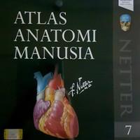 [ ORIGINAL ] Atlas Anatomi Manusia Edisi 7 - Frank H Netter
