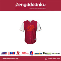 Custom Baju / Jersey Baseball Softball