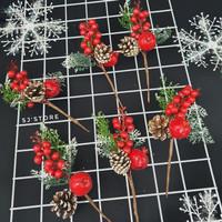 Aksesoris gantungan pohon natal murah