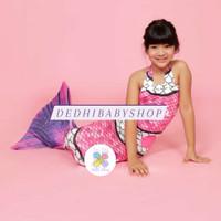 Baju Renang Putri Duyung Kostum Mermaid Anak Made in Indonesia - Pink, XS