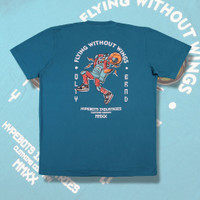 Hypebots Industries T-shirt Flying Without Wings Green Tosca