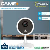 EZVIZ C1C 720P 1MP ( FREE MICRO SD 16GB ) IP Camera CCTV GARANSI RESMI