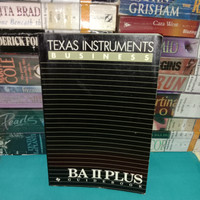 TEXAS INSTRUMENTS BUSINESS BA II PLUS GUIDE BOOK