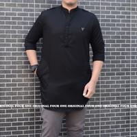 Baju Koko Qurta Flanel/ Kemko Kaos Hijrah / Pakaian Haji dan Umroh 1