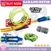 A68 Mainan Anak Laki Laki Mobil Mobilan Balap Track Racing Mobil Murah