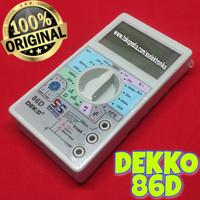 Multimeter Digital Multitester mini Avometer DEKKO DEKO Dekko 86D 86-D