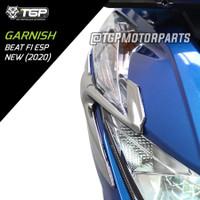 GARNISH LIST LAMPU BEAT FI ESP NEW DELUXE LED 2020 TGP VARIASI MOTOR