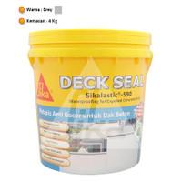 Deck Seal Sikalastic 590 Waterproofing Anti Bocor Dak Beton 4Kg
