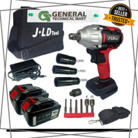 Cordless Impact Wrench Brushless Bor Baterai JV88 48 Volt by JLD Tools