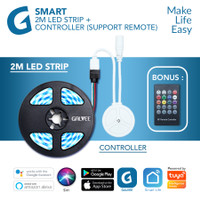 GALVEE Smart Led Strip RGB 2M 2 Meter + Controller Wifi For Automation