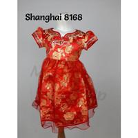 Cheongsam cewek murah / Imlek Anak / Baju Shanghai anak #8168 #L8168