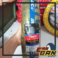 BAN IRC FASTI 2 - 90/80 RING 17 TUBELESS SOFT COMPOUND RACING