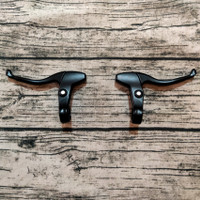 Handle rem sepeda full alloy inter brake lever hitam lipat mtb fixie