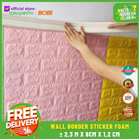 Wallpaper Foam List Border - Wall Border List 3D 2,3m x 8cm