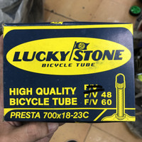 Ban Dalam 700c Lucky Stone for Fixie Road Bike Pentil Presta FV 6 cm