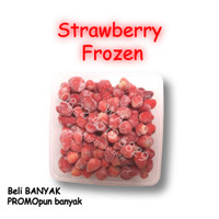 Buah Beku Strawberry Frozen 1kg | Stroberi Beku 1000gr
