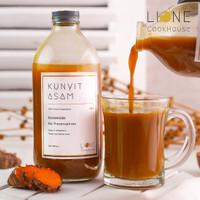 KUNYIT ASAM LIONE 500 ML 100% BAHAN ALAMI Minuman Sehat